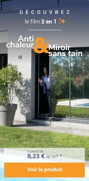 femme regarde baie vitree voisin curieux