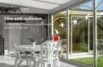 Sticker pour vitre anti-collision 5 silhouettes