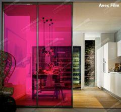 Film décoratif de couleur Framboise  61133. Luminis-Films
