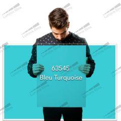 Film décoratif de couleur bleu turquoise  63545 . Luminis-Films