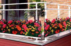 Film à fleurs transparentes de Roses  FLR 191. Luminis-Films