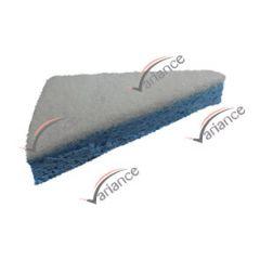 Eponge de nettoyage pour atteindre les angles