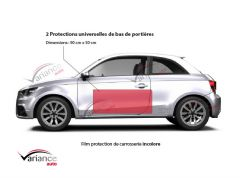 2 protections de carrosserie pour bas de portières