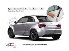 2 protections de carrosserie pour arêtes de portes