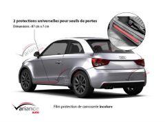 2 protections de carrosserie pour seuils de portes