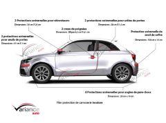 Kit complet de protection de carrosserie (2/3 portes)