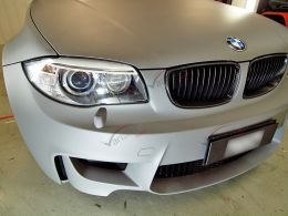 Film covering gris mat 3D. Variance Auto