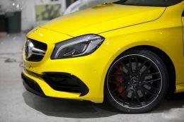 Film covering jaune brillant 2D. Variance Auto