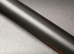 Film covering métal brossé anthracite 3D. Variance Auto