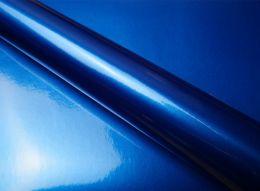 Film covering bleu métallisé 3D. Variance Auto