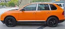 Film covering orange brillant 2D. Variance Auto