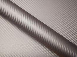 Film covering carbone argent 2D. Variance-auto