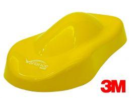 Film covering 3M 2080 effet glossy jaune. Variance Auto