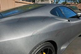Film covering carbone gris anthracite 3D. Variance Auto