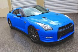 Film covering bleu brillant 2D. Variance Auto