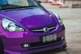 Film covering violet brillant 2D. Variance Auto