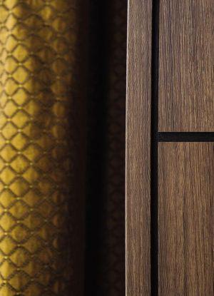 Revêtement adhésif aspect fibres dorés