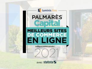 Luminis films dans le palmarès des meilleurs sites de e-commerce 2021 ! . Luminis Films