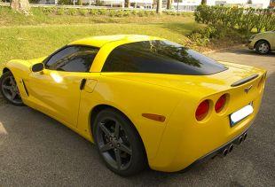 Une corvette stylisée et protégée avec un kit vitres teintées !. Variance Auto