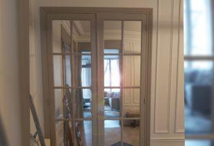 Habiller des carreaux de verre avec du film miroir adhésif !. Luminis Films