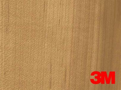 Revêtement décoratif DI-NOC 3M effet chêne médium . Luminis-Films