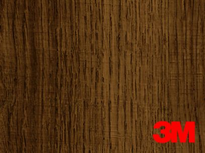Revêtement décoratif DI-NOC 3M effet bois brut médium. Luminis-Films