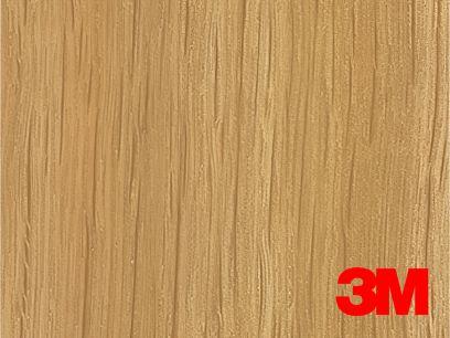 Revêtement décoratif DI-NOC 3M effet bois clair nuancé. Luminis-Films