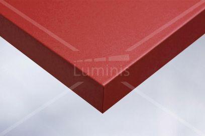 Papier autocollant rouge mat. Luminis-Films