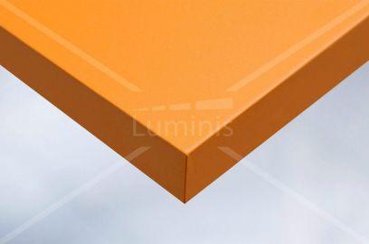 Film adhésif PVC orange mat. Luminis-Films