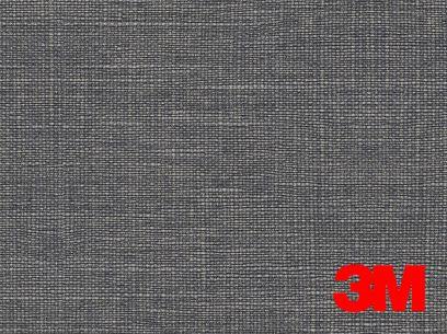 Revêtement décoratif DI-NOC 3M effet tissu gris. Luminis-Films