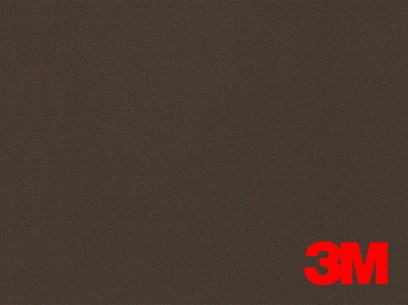 Revêtement décoratif DI-NOC 3M effet métal marron foncé. Luminis-Films