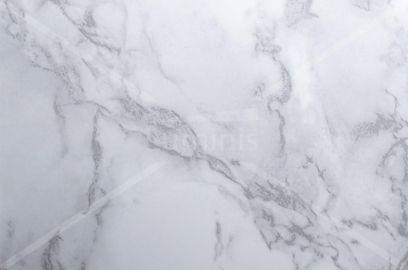 Adhésif plan de travail marbre blanc brillant. Luminis-Films