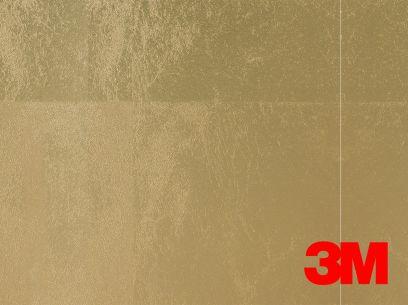 Revêtement décoratif DI-NOC 3M effet feuille d'or. Luminis-Films