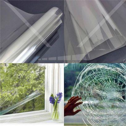Film sécurité incolore 120 microns