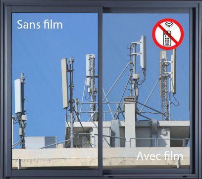 Film anti-ondes ultra clair pour vitre. Luminis-Films