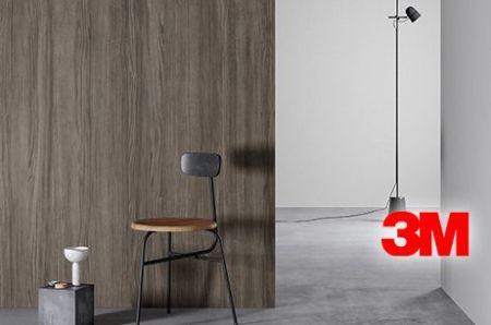 Revêtement décoratif 3M; Luminis-Films.