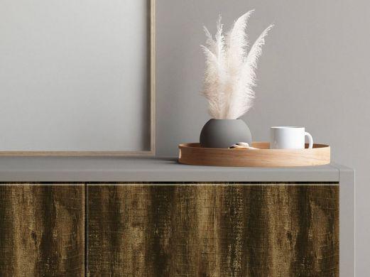 Adhésif décoratif effet bois vieilli authentique