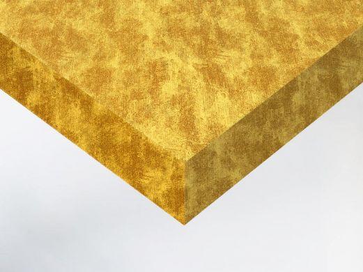 Revêtement décoratif effet tissu doré vieilli