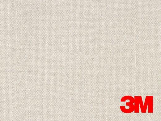 Revêtement décoratif DI-NOC 3M effet tissage blanc/beige