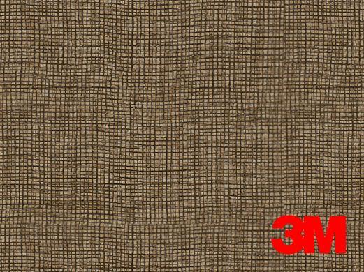 Revêtement décoratif DI-NOC 3M effet tissu marron