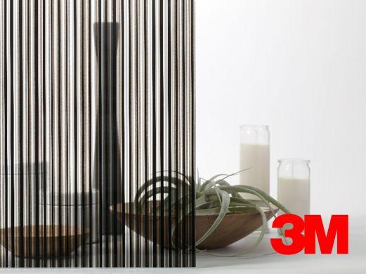 Film décoratif Fasara 3M lignes modernes noires