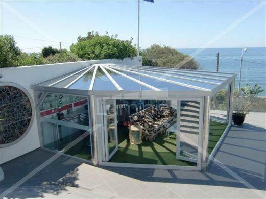 Film de protection solaire métallisé argent