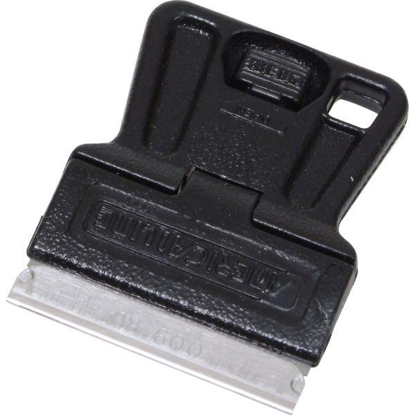 VS203 - Grattoir à vitres type Mini Scraper pour retirer toutes les impuretées. Luminis-Films