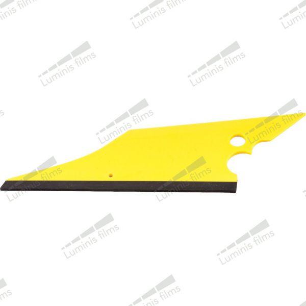 VO115 - Conquistador : raclette polyvalente pour maroufler et passer derriére les joints. Luminis-Films
