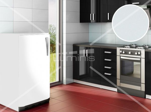 Papier adhésif blanc mat - MAT-2300. Luminis-Films