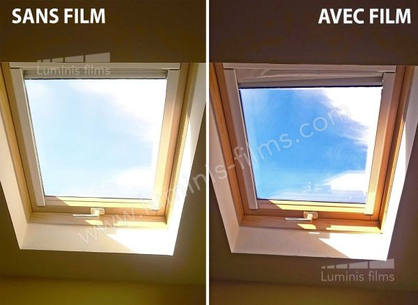film solaire statique bleu stat 206ix luminis films. Black Bedroom Furniture Sets. Home Design Ideas
