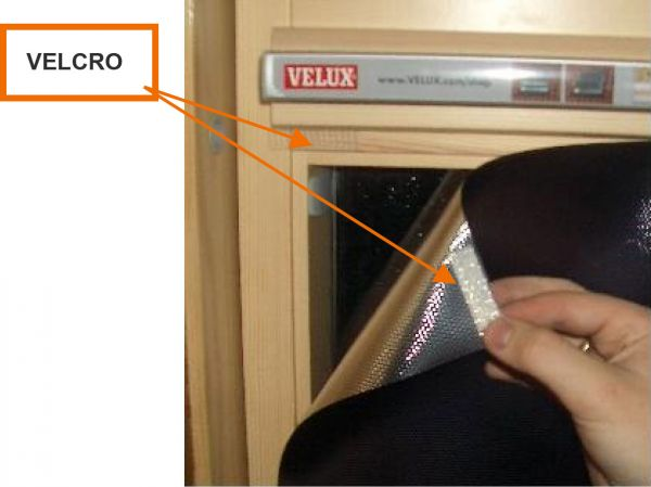 Film repositionnable anti chaleur pour velux - STORE-100i. Luminis-Films