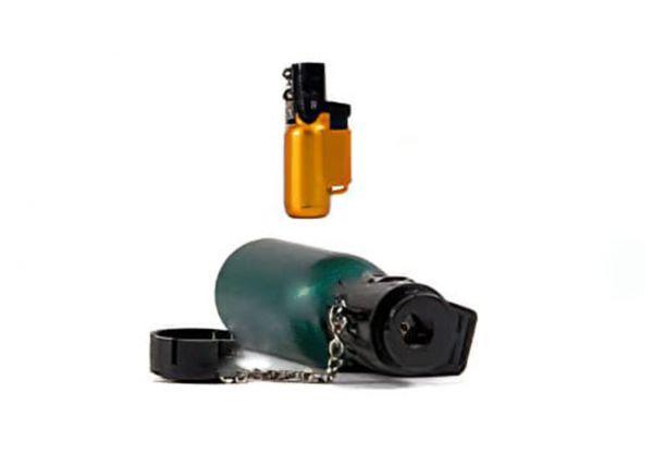 Mini chalumeau à gaz avec recharge pour sècher les petites bulles. Variance Auto