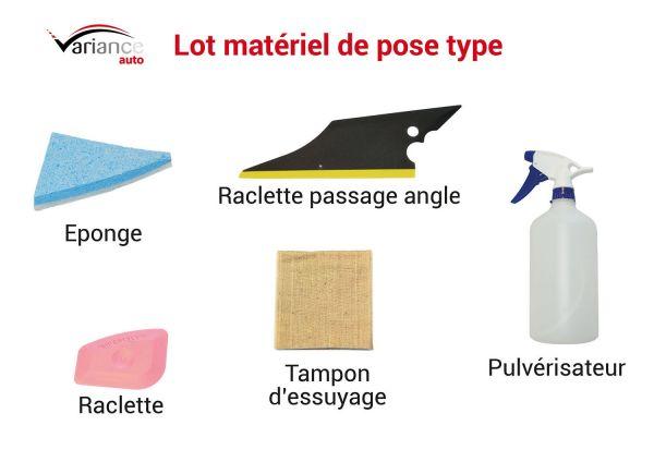 Lot matériel de pose TYPE. Variance Auto