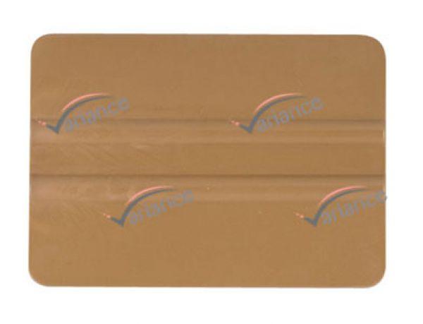 Raclette Gold Bondo pour maroufler fortement et sans rayure. Variance-Auto